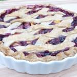 Wild Blueberry peach Pie 5