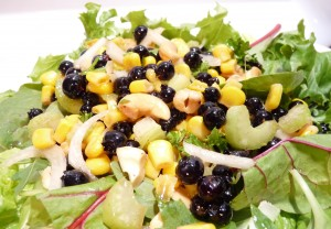 Wild Blueberry Corn Salad