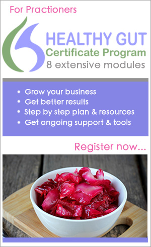 Lorene Sauro Healthy-Gut Certificate Program for Practitioners