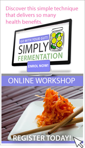 Simply Fermentation Online Workshop Register Today